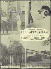 Page 5, 1952 Edition, Maryville High School - Appalachian Yearbook (Maryville, TN) online yearbook collection