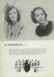 Page 6, 1952 Edition, Lawrence County High School - Law Co Hi Yearbook (Lawrenceburg, TN) online yearbook collection