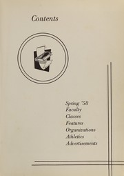Page 7, 1959 Edition, Carter High School - Dial Yearbook (Strawberry Plains, TN) online yearbook collection