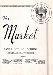 Page 5, 1964 Edition, East Ridge High School - Musket Yearbook (Chattanooga, TN) online yearbook collection