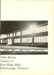 Page 5, 1969 Edition, East Ridge High School - Musket Yearbook (Chattanooga, TN) online yearbook collection