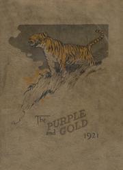 1921 Edition, Greeneville High School - Purple and Gold Yearbook (Greeneville, TN)