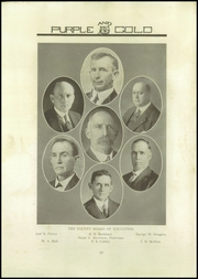 Page 10, 1921 Edition, Greeneville High School - Purple and Gold Yearbook (Greeneville, TN) online yearbook collection