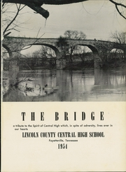 Page 5, 1954 Edition, Lincoln County High School - Bridge Yearbook (Fayetteville, TN) online yearbook collection