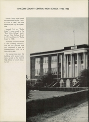 Page 6, 1954 Edition, Lincoln County High School - Bridge Yearbook (Fayetteville, TN) online yearbook collection