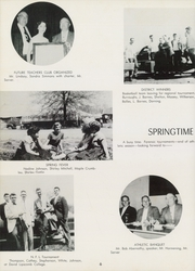 Page 10, 1957 Edition, Lincoln County High School - Bridge Yearbook (Fayetteville, TN) online yearbook collection