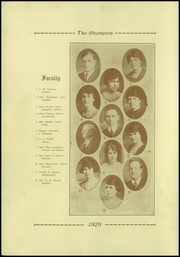 Page 16, 1920 Edition, Central High School - Champion Yearbook (Chattanooga, TN) online yearbook collection