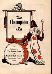 Page 7, 1931 Edition, Central High School - Champion Yearbook (Chattanooga, TN) online yearbook collection