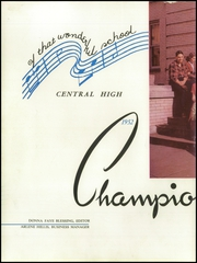 Page 12, 1952 Edition, Central High School - Champion Yearbook (Chattanooga, TN) online yearbook collection