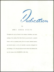 Page 15, 1952 Edition, Central High School - Champion Yearbook (Chattanooga, TN) online yearbook collection