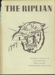 Page 5, 1949 Edition, Ripley High School - Riplian Yearbook (Ripley, TN) online yearbook collection