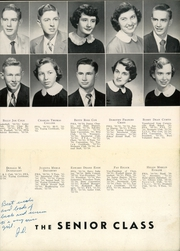 Page 13, 1954 Edition, Giles County High School - Crest Yearbook (Pulaski, TN) online yearbook collection