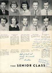 Page 15, 1954 Edition, Giles County High School - Crest Yearbook (Pulaski, TN) online yearbook collection