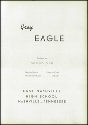 Page 7, 1945 Edition, East Nashville High School - Grey Eagle Yearbook (Nashville, TN) online yearbook collection