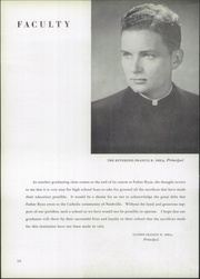 Page 14, 1956 Edition, Father Ryan High School - Panther Yearbook (Nashville, TN) online yearbook collection