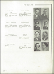 Page 11, 1940 Edition, Union City High School - Tornado Yearbook (Union City, TN) online yearbook collection