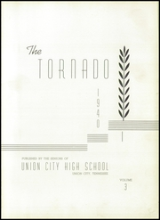 Page 5, 1940 Edition, Union City High School - Tornado Yearbook (Union City, TN) online yearbook collection