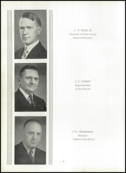 Page 8, 1940 Edition, Union City High School - Tornado Yearbook (Union City, TN) online yearbook collection