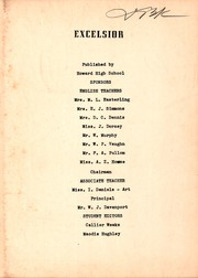 Page 3, 1953 Edition, Howard High School - Excelsior Yearbook (Chattanooga, TN) online yearbook collection