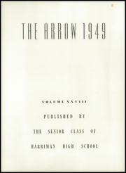 Page 6, 1949 Edition, Harriman High School - Arrow Yearbook (Harriman, TN) online yearbook collection