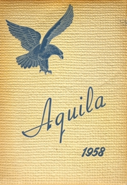 Shelbyville Central High School - Aquila Yearbook (Shelbyville, TN) online yearbook collection, 1958 Edition, Page 1