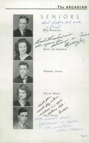 Page 16, 1948 Edition, Johnson County High School - Arcadian Yearbook (Mountain City, TN) online yearbook collection