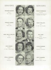 Page 15, 1953 Edition, Johnson County High School - Arcadian Yearbook (Mountain City, TN) online yearbook collection