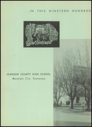 Page 6, 1957 Edition, Johnson County High School - Arcadian Yearbook (Mountain City, TN) online yearbook collection