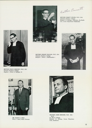 Page 17, 1966 Edition, Christian Brothers High School - Chronicle Yearbook (Memphis, TN) online yearbook collection