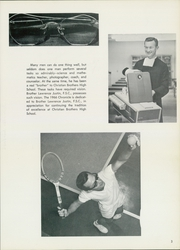 Page 7, 1966 Edition, Christian Brothers High School - Chronicle Yearbook (Memphis, TN) online yearbook collection