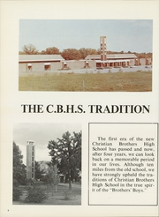 Page 10, 1969 Edition, Christian Brothers High School - Chronicle Yearbook (Memphis, TN) online yearbook collection