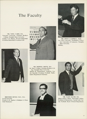 Page 13, 1969 Edition, Christian Brothers High School - Chronicle Yearbook (Memphis, TN) online yearbook collection