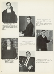 Page 14, 1969 Edition, Christian Brothers High School - Chronicle Yearbook (Memphis, TN) online yearbook collection