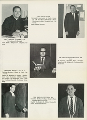 Page 15, 1969 Edition, Christian Brothers High School - Chronicle Yearbook (Memphis, TN) online yearbook collection
