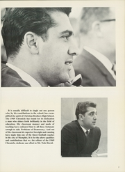 Page 9, 1969 Edition, Christian Brothers High School - Chronicle Yearbook (Memphis, TN) online yearbook collection