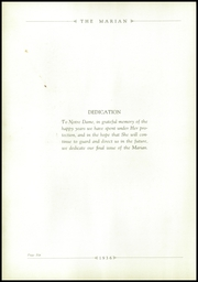 Page 10, 1936 Edition, Notre Dame High School - Marian Yearbook (Chattanooga, TN) online yearbook collection