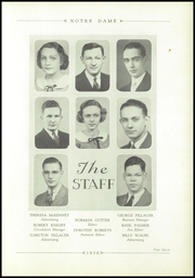 Page 11, 1936 Edition, Notre Dame High School - Marian Yearbook (Chattanooga, TN) online yearbook collection