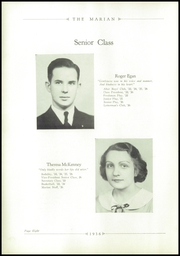 Page 12, 1936 Edition, Notre Dame High School - Marian Yearbook (Chattanooga, TN) online yearbook collection