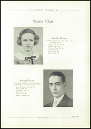 Page 13, 1936 Edition, Notre Dame High School - Marian Yearbook (Chattanooga, TN) online yearbook collection