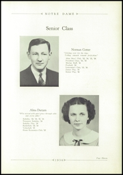 Page 15, 1936 Edition, Notre Dame High School - Marian Yearbook (Chattanooga, TN) online yearbook collection