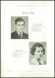 Page 16, 1936 Edition, Notre Dame High School - Marian Yearbook (Chattanooga, TN) online yearbook collection