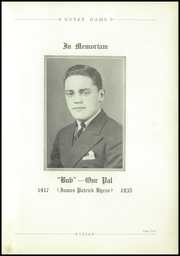Page 9, 1936 Edition, Notre Dame High School - Marian Yearbook (Chattanooga, TN) online yearbook collection