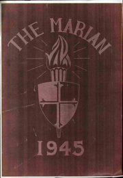 1945 Edition, Notre Dame High School - Marian Yearbook (Chattanooga, TN)
