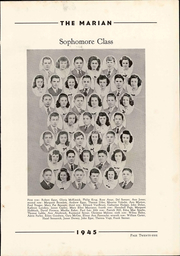 Notre Dame High School - Marian Yearbook (Chattanooga, TN) online yearbook collection, 1945 Edition, Page 31