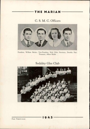 Notre Dame High School - Marian Yearbook (Chattanooga, TN) online yearbook collection, 1945 Edition, Page 40