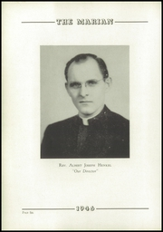 Page 10, 1946 Edition, Notre Dame High School - Marian Yearbook (Chattanooga, TN) online yearbook collection