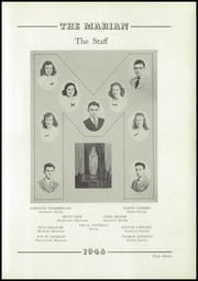 Page 11, 1946 Edition, Notre Dame High School - Marian Yearbook (Chattanooga, TN) online yearbook collection