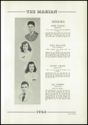 Page 13, 1946 Edition, Notre Dame High School - Marian Yearbook (Chattanooga, TN) online yearbook collection