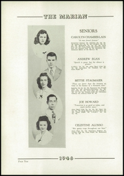 Page 14, 1946 Edition, Notre Dame High School - Marian Yearbook (Chattanooga, TN) online yearbook collection