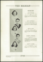 Page 16, 1946 Edition, Notre Dame High School - Marian Yearbook (Chattanooga, TN) online yearbook collection